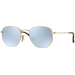 Ray-Ban RB3548 Sunglasses - Gold/Grey Flash
