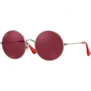 Ray-Ban Ja-Jo Sunglasses - Silver/Dark Red Classic