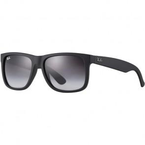Ray-Ban Justin Sunglasses - Rubber Black/Grey Gradient