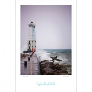 Ride Fresh Frankfort Lighthouse Poster