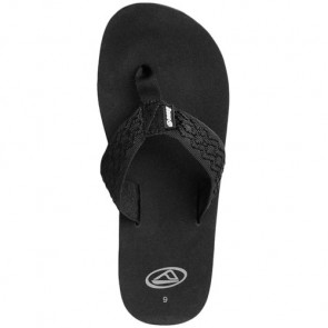 Reef Smoothy Sandals - Black