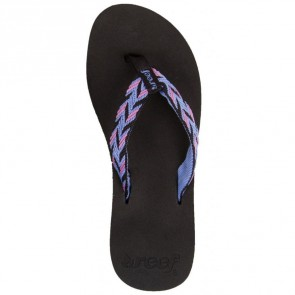Reef Women's Mid Seas Sandals - Black/Blue