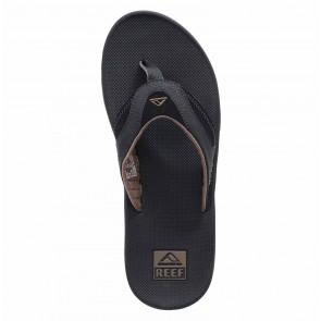 Reef Fanning Sandals - Black/Brown