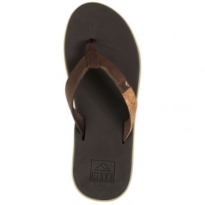 Reef Slammed Rover LE Sandals - Brown/Cork