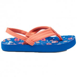 Reef Youth Little Ahi Sandals - Blue/Floral