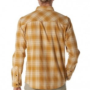 Reef View Long Sleeve Flannel - Gold