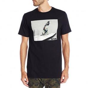 Rip Curl Uno Fin Classic T-Shirt - Black