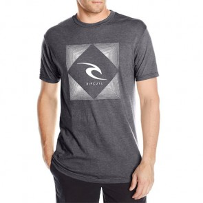 Rip Curl Field Heather T-Shirt - Charcoal