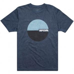 Rip Curl Floater Mock Twist T-Shirt - Navy