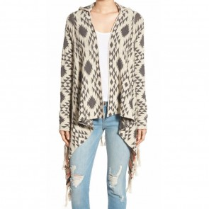 Rip Curl Women's Desert Nights Cardigan Sweater - Vanilla
