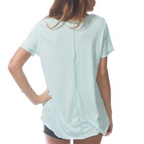 Rip Curl Women's Heartbeat T-Shirt - Aqua