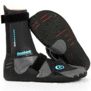 Rip Curl Wetsuits Women's Flash Bomb 3mm Split Toe Boots - Black