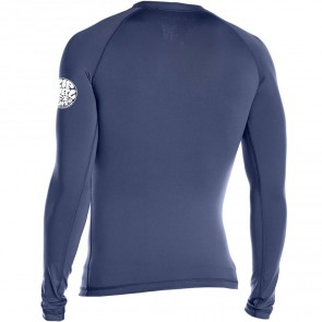 Rip Curl Wetsuits Dawn Patrol Long Sleeve Rash Guard - Navy