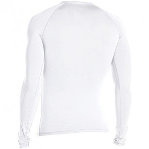 Rip Curl Wetsuits Dawn Patrol Long Sleeve Rash Guard - White