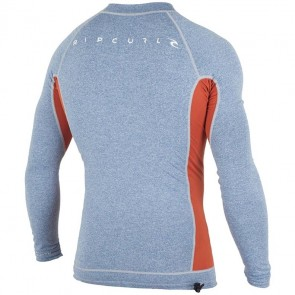 Rip Curl Wetsuits Aggrolite Long Sleeve Rash Guard - Blue