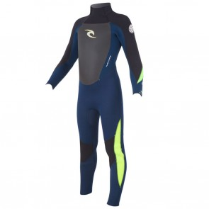 Rip Curl Youth Dawn Patrol 4/3 GB Back Zip Wetsuit
