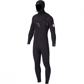 Rip Curl Dawn Patrol 5/4 Hooded Wetsuit - Black