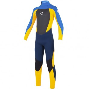Rip Curl Youth Dawn Patrol 4/3 Back Zip Wetsuit - 2015