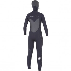 Rip Curl Women's Flash Bomb 5/4 Hooded Wetsuit - 2015