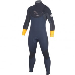 Rip Curl Dawn Patrol 3/2 Chest Zip Wetsuit - Orange
