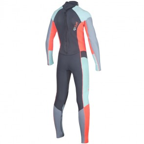 Rip Curl Youth Girls Dawn Patrol 4/3 Back Zip Wetsuit