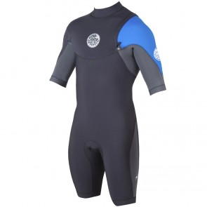 Rip Curl E-Bomb Pro Short Sleeve Zip Free Spring Wetsuit - 2015