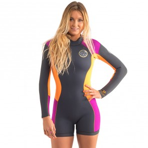 Rip Curl Women's Dawn Patrol Long Sleeve Spring Wetsuit - Purple