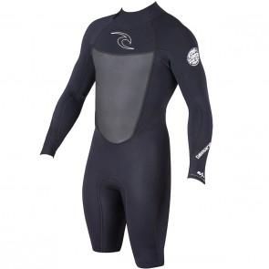 Rip Curl Dawn Patrol Long Sleeve Spring Wetsuit - Black