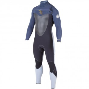 Rip Curl Flash Bomb 4/3 Chest Zip Wetsuit - 2015
