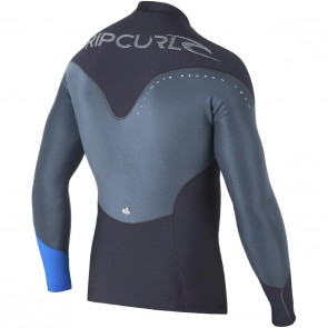 Rip Curl Wetsuits E-Bomb Pro 1mm Long Sleeve Jacket - Charcoal