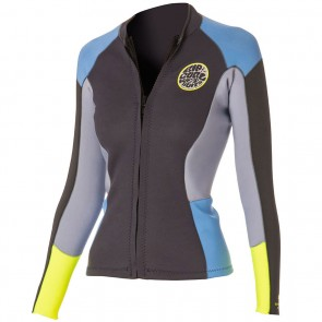 Rip Curl Wetsuits Women's Dawn Patrol Long Sleeve Jacket - Blue