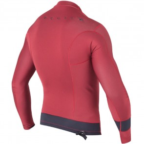 Rip Curl Wetsuits Aggrolite 1.5mm Long Sleeve Jacket - Red