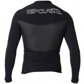 Rip Curl Wetsuits Dawn Patrol 1.5mm Long Sleeve Jacket - Black