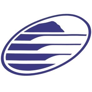 Cleanline Surf Big Rock Oval Sticker - Blue