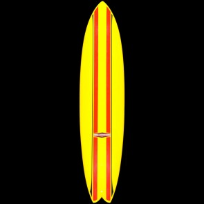 "Roland Surfboards 8'0"" Magic Fish"