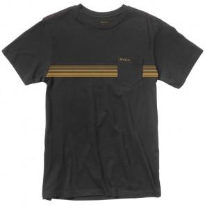 RVCA Stripe T-Shirt - Black