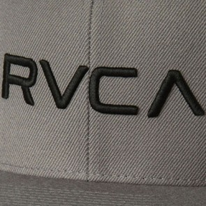 RVCA Twill Snapback III Hat - Grey