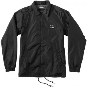 RVCA ANP Coaches Jacket - Black