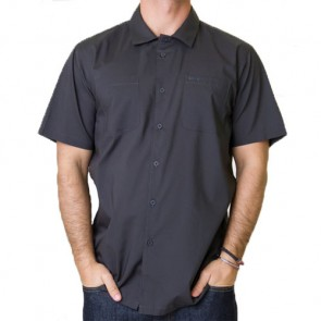 RVCA Overtime Short Sleeve Shirt - Pirate Black