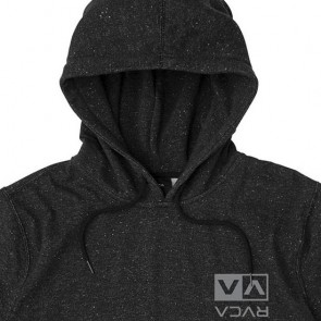 RVCA Flipped Box Embroidered Hoodie - Black