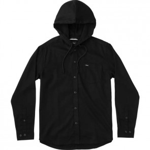 RVCA No Good Long Sleeve Shirt - Black