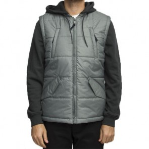 RVCA Puffer Quilted Expedition Jacket - Pirate Black