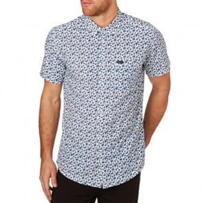 RVCA Porcelain Short Sleeve Shirt - Antique White