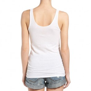 RVCA Women's Flag Stamp Tank - Vintage White