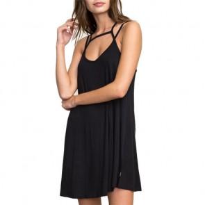 RVCA Women's Zavey Swing Dress - Black