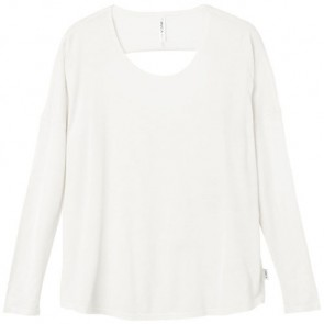 RVCA Women's Sutherland Long Sleeve Top - Vintage White