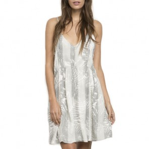 RVCA Women's New Palm Dress - Vintage White