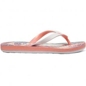 Roxy Youth Girls Tahiti Sandals - Peach Parfait/Sea