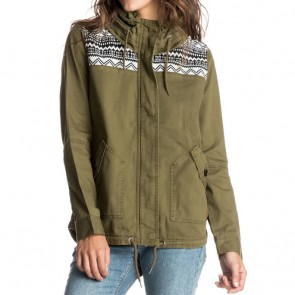 Roxy Women's Winter Cloud Jacket - Military Olive