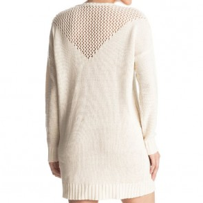 Roxy Women's Borrowed Time Sweater Dress - Pristine